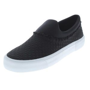 Jessica Simpson Slip On Sneakers Shoes Black White